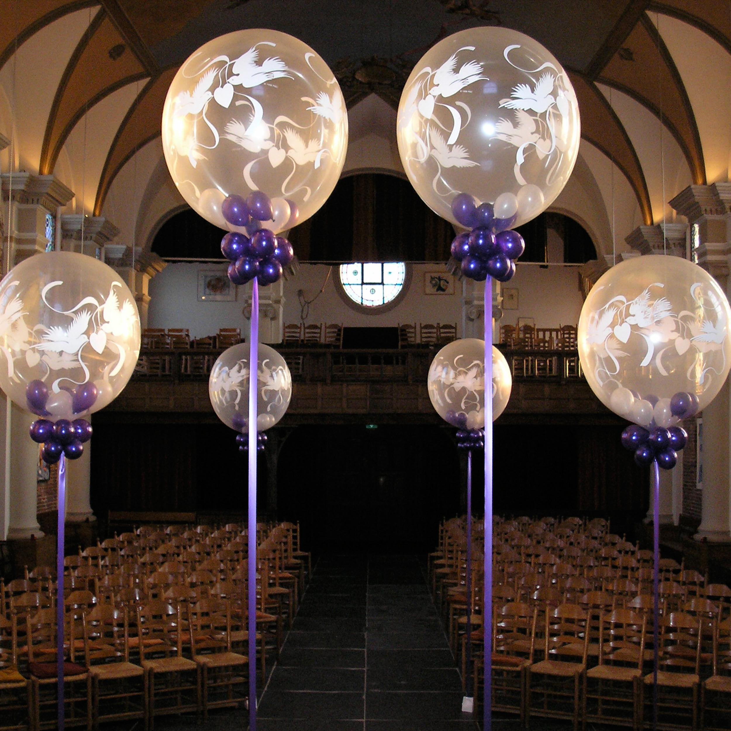 Ballonnen voor een bruiloft